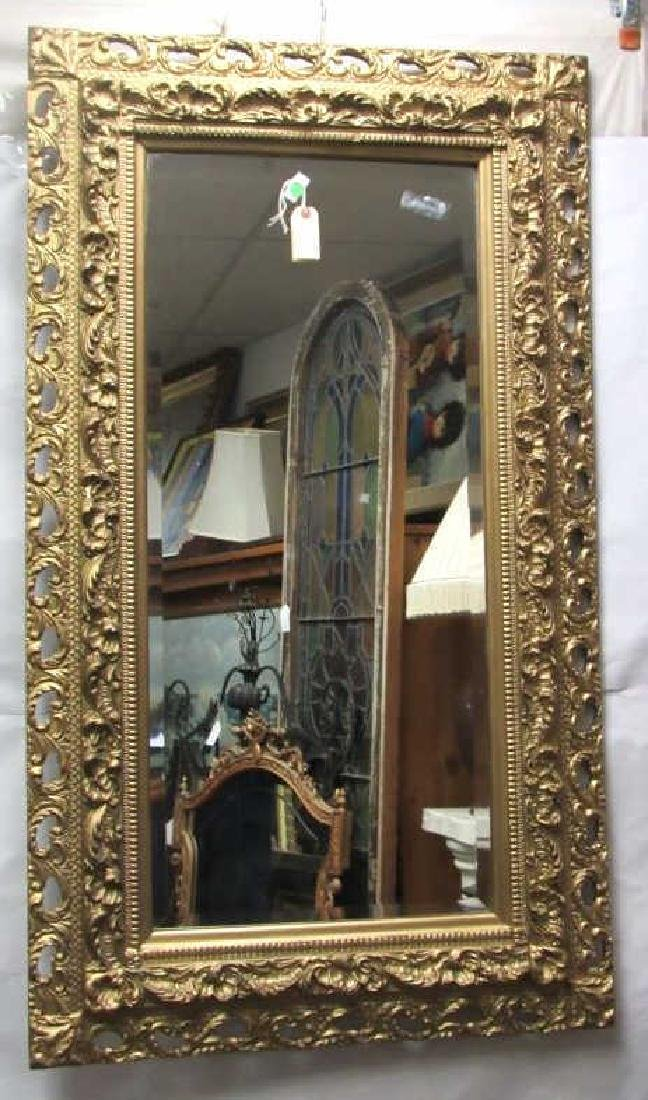 Very Beautiful Victorian Hanging Mirror