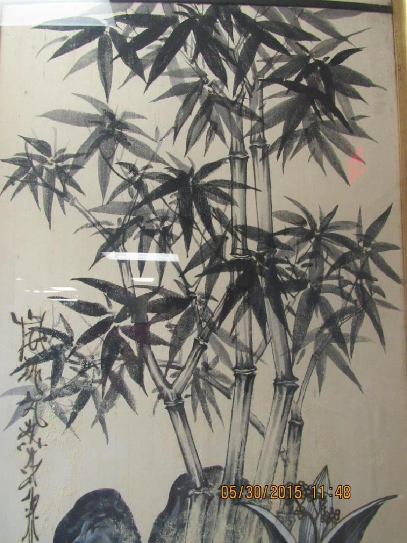 Very Old Silk Painting