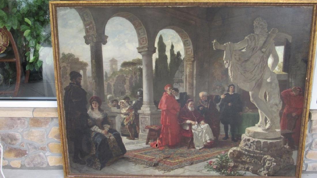 Die Sichtung des Nachlass by Carl Ludwig Becker