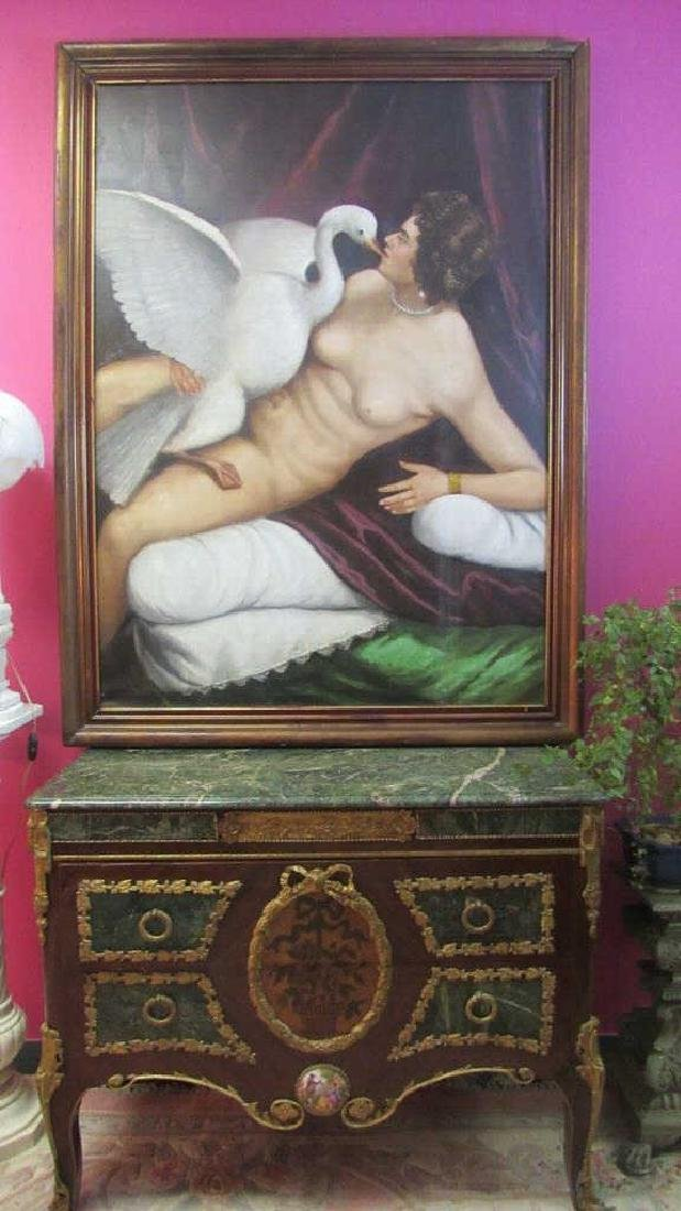 Original Oil Painting From Royal Studio