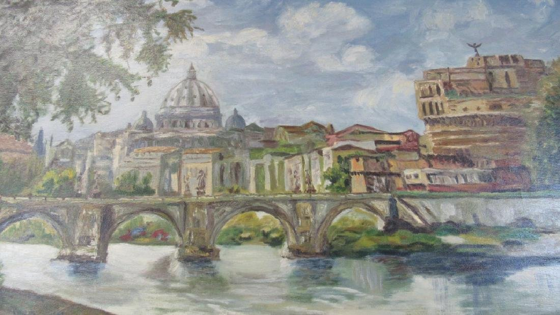 Oil Painting City Views of Florence