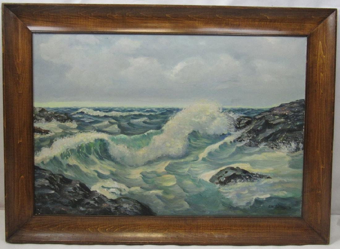 Original Oil Painting By G.W. Swanson
