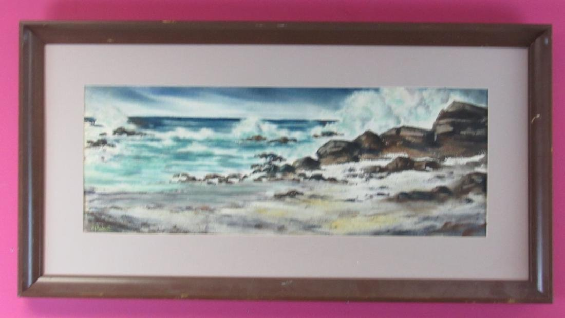Beautiful Original Oil Painting of the Sea