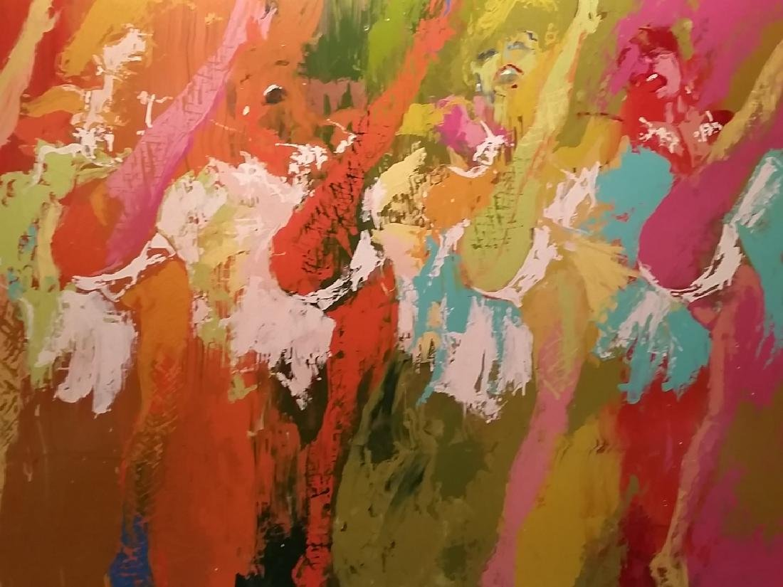 """Leroy Neiman (American, 1921-2012) """"Can Can I"""""""