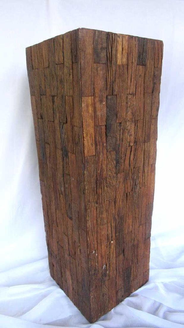 Wooden Pedestal Stand