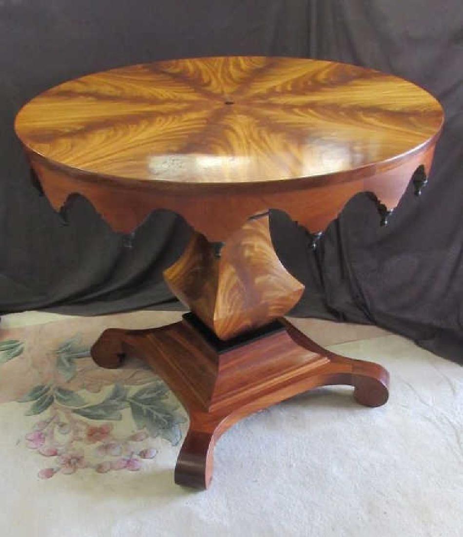 English Mahogany Center Table