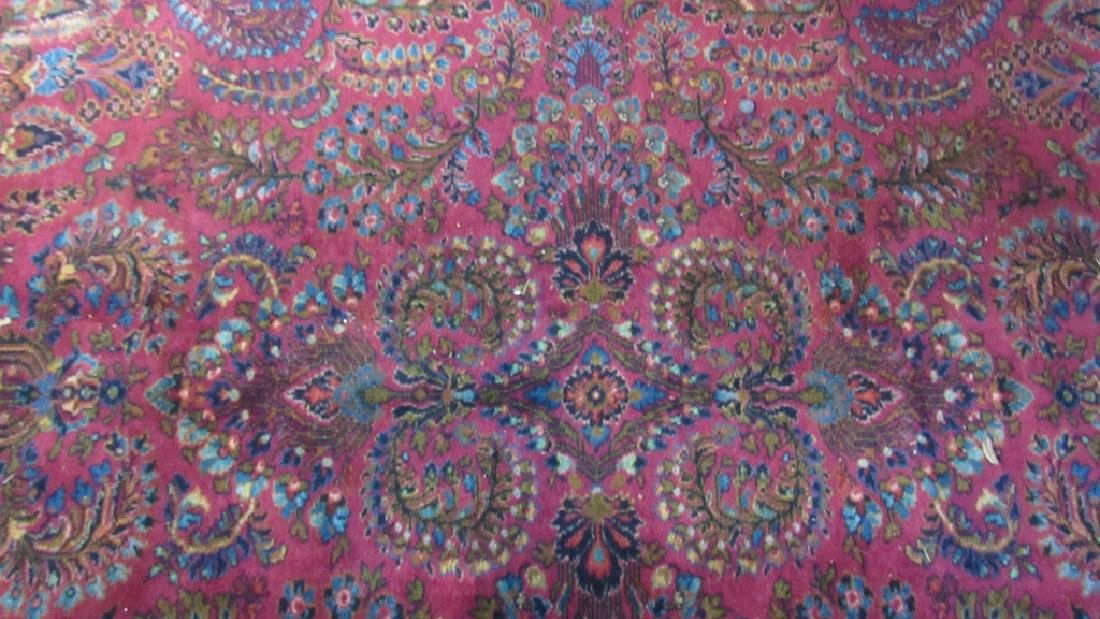 Middle Eastern handmade Stitched Wool Rug