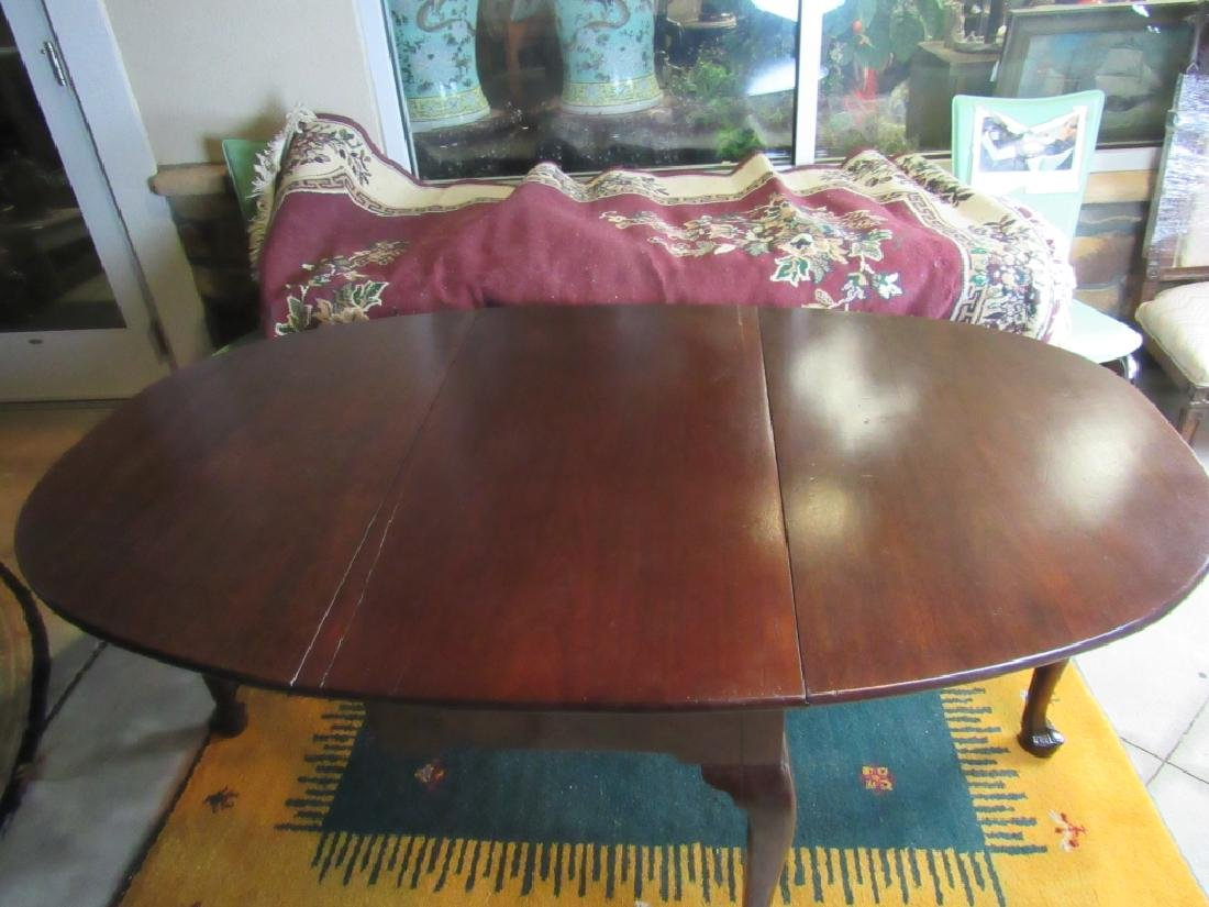 Walnut Drop-Leaf Table