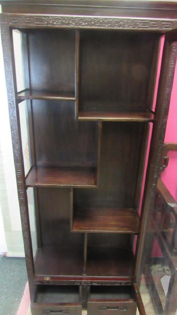 Rosewood Cabinet Shelf