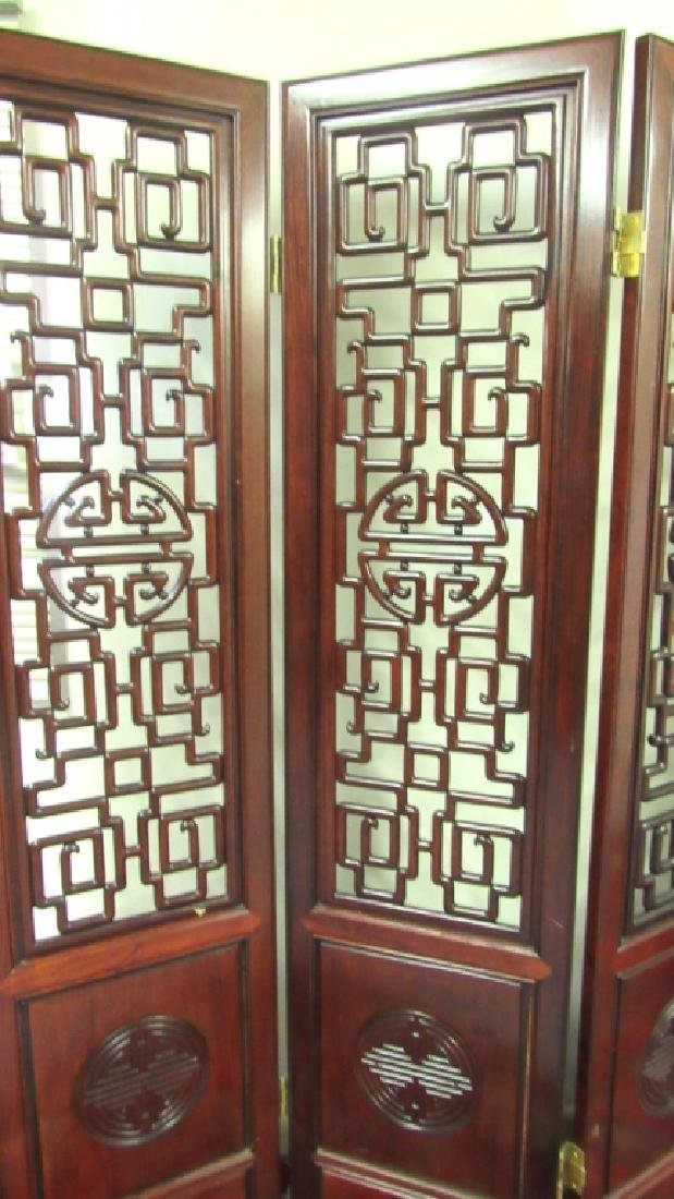 Chinese Wal Hardwood Screen