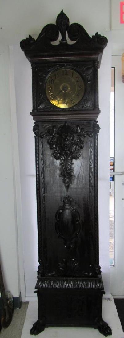 PADAUK TALL-CASE CLOCK