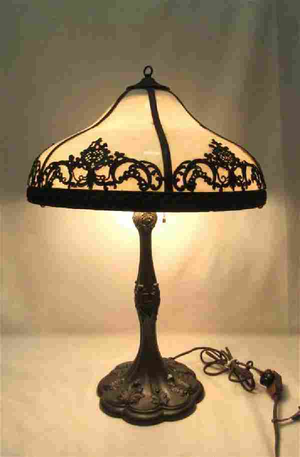 Vintage Tiffany Style Table Lamp