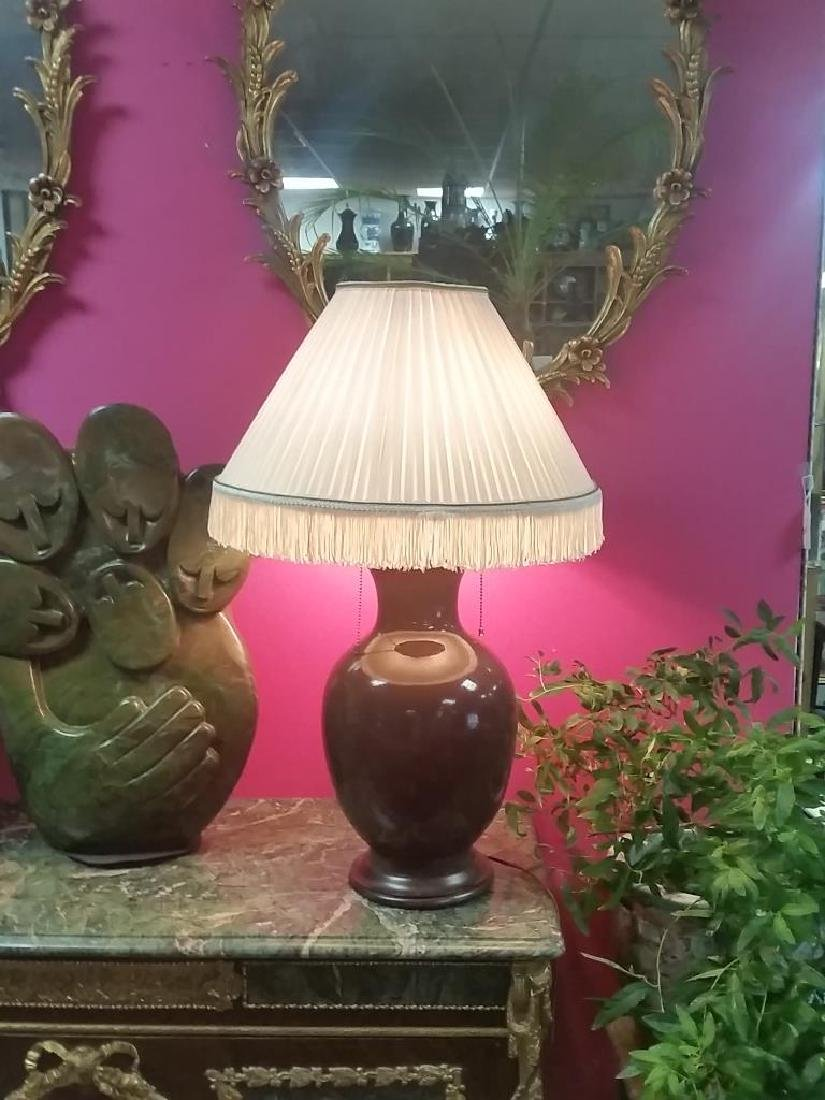17-18th Century Chinese Porcelain Vase Table Lamp