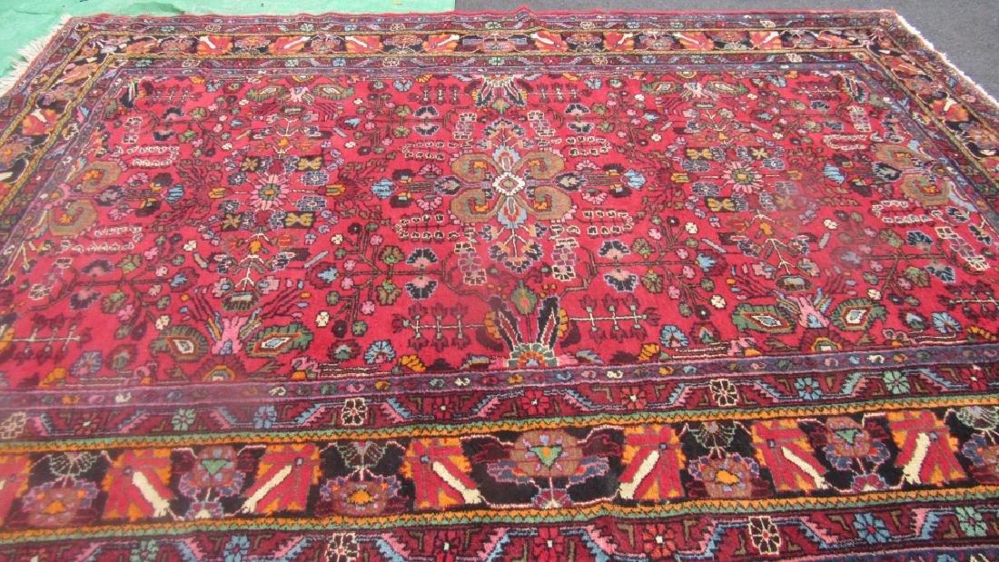 Very Beautiful Oriental Pure Wool Rug - 3