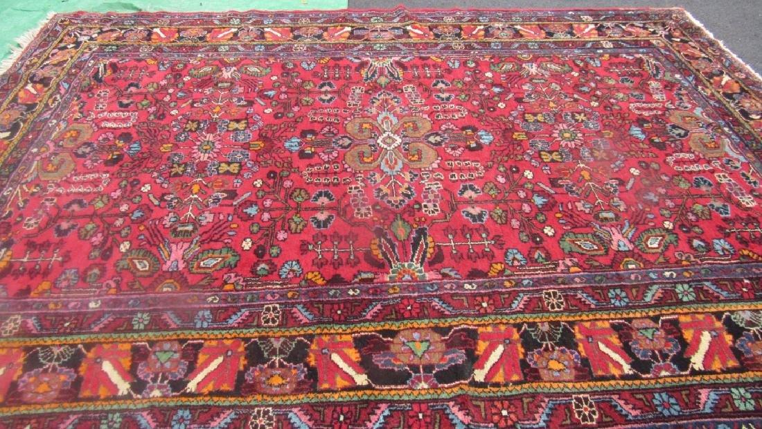 Very Beautiful Oriental Pure Wool Rug - 4