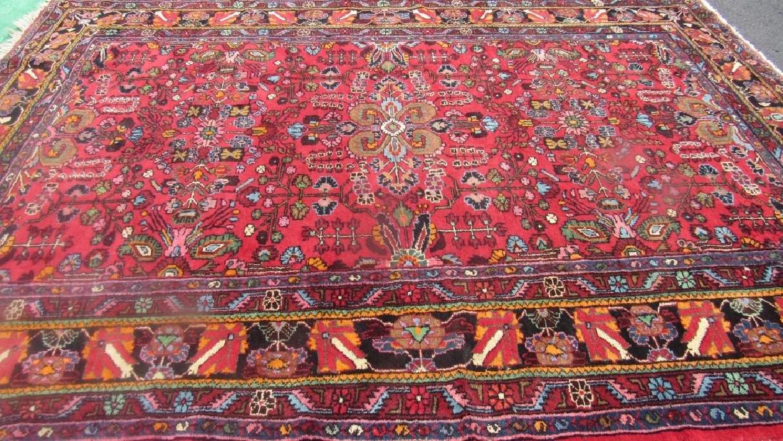 Very Beautiful Oriental Pure Wool Rug - 5
