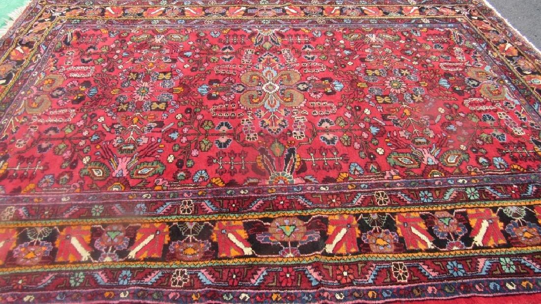 Very Beautiful Oriental Pure Wool Rug - 6