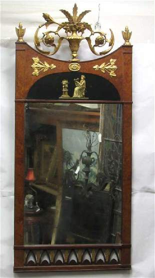 Victorian Style Hanging Mirror
