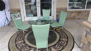 Set of Patio Chairs and Table