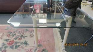 5 Piece GlassIron Patio Furniture