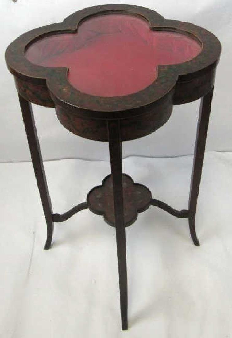 Antique Adams Style Display Table