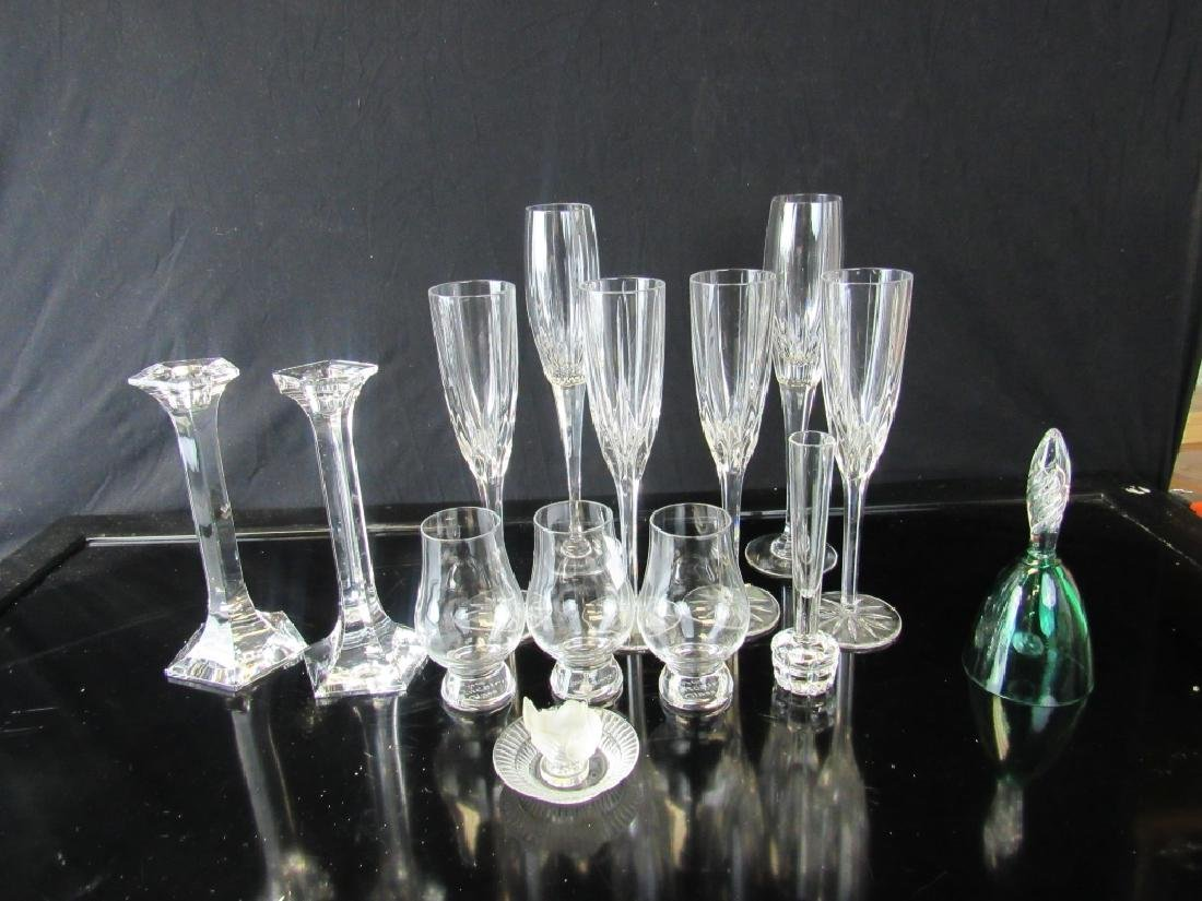Lot of Crystal Liquor Glasses