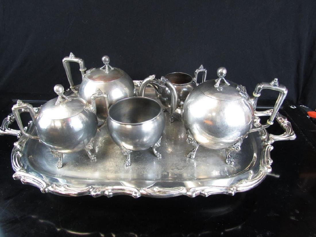 Set of Silver Tea Set