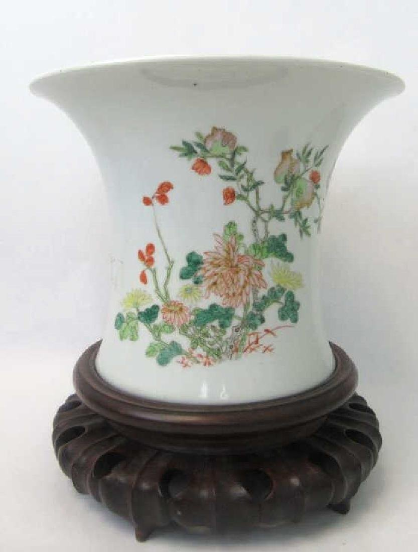Chinese Famille Rose Pot