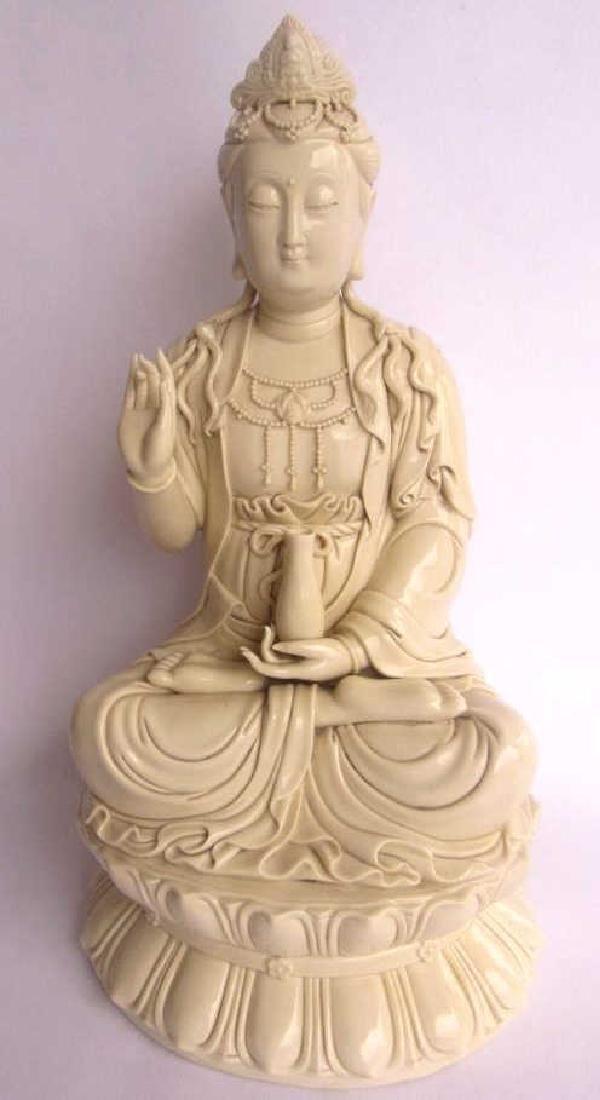 Qing Dynasty Porcelain Figuirine