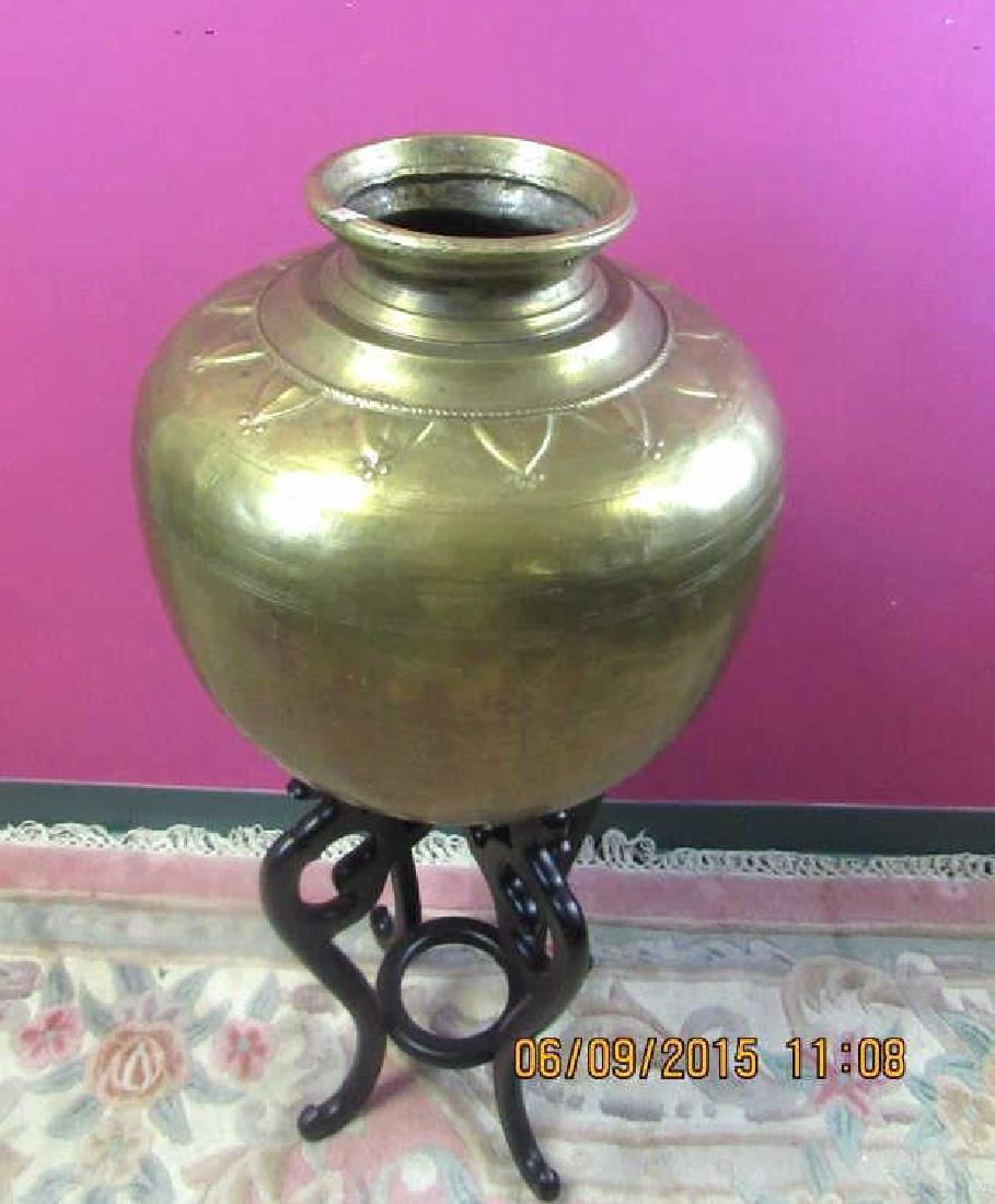 European Brass Pot
