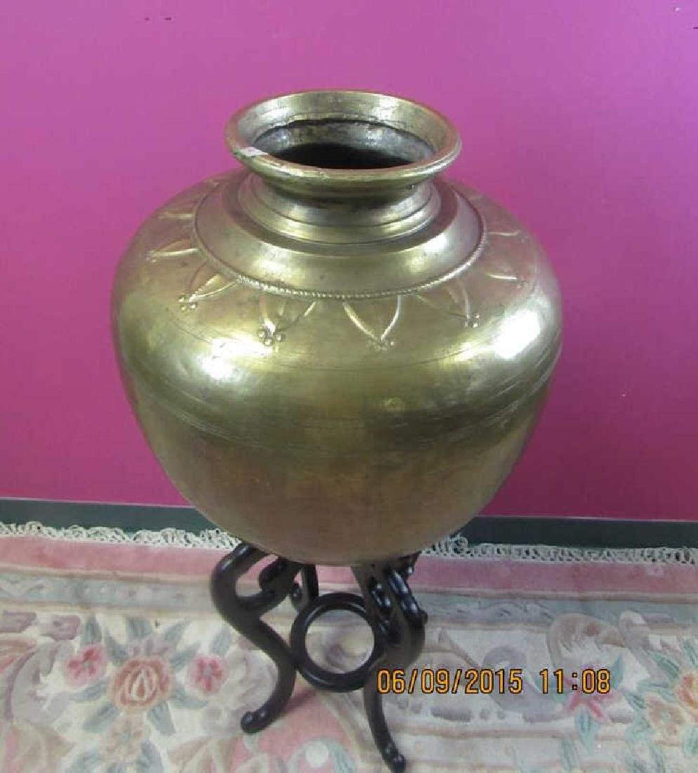 European Brass Pot - 2
