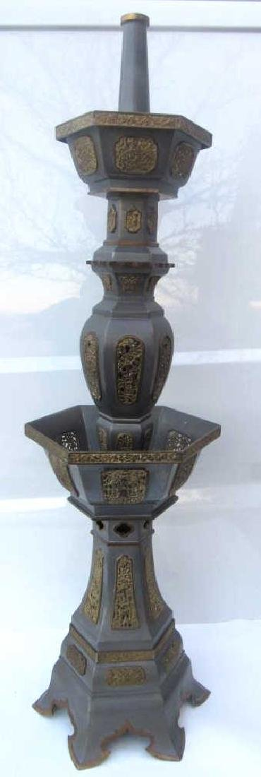 18th Century Qing Dy nasty Chinese Pewter Pricke