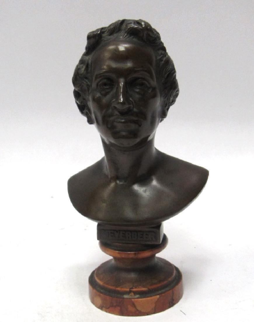 20th Century Bronze Statue of  Meyerbeer
