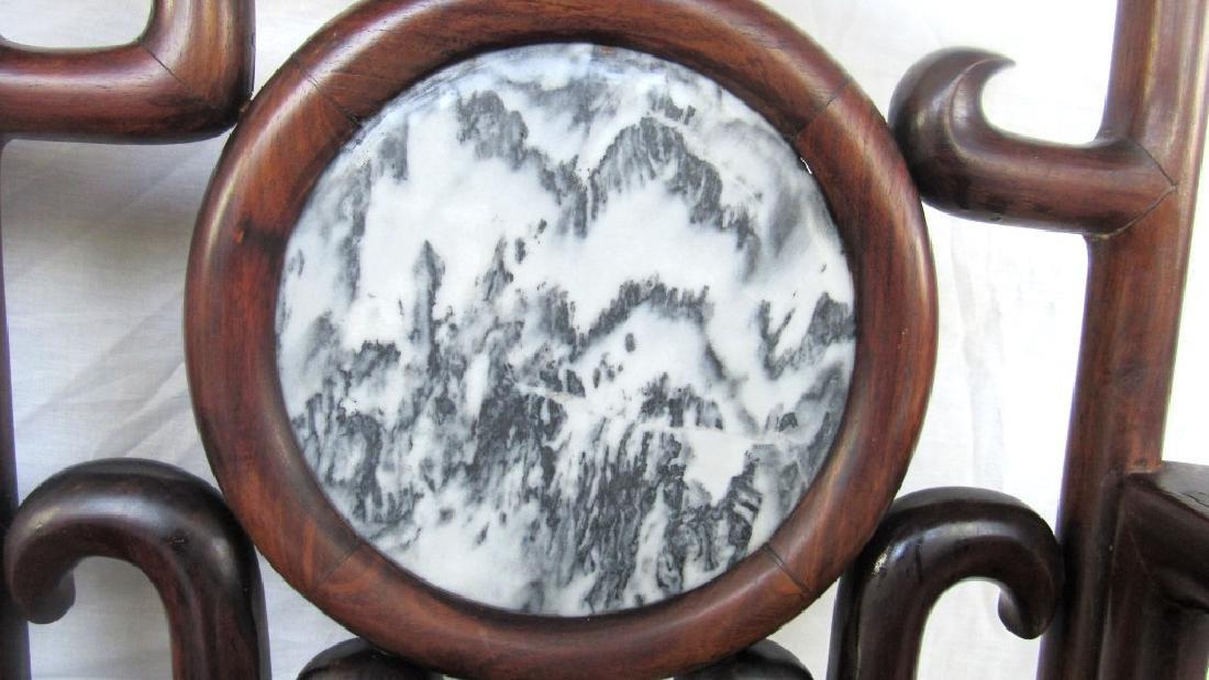 19th Century Chinese Huangua Hainan Marble Bench - 4