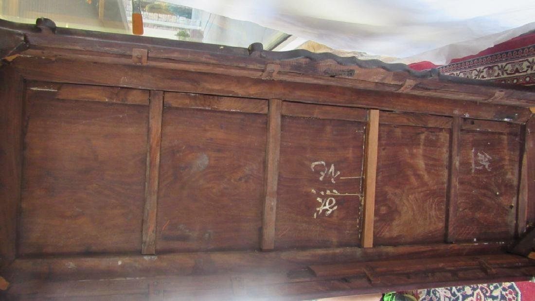 19th Century Chinese Huangua Hainan Marble Bench - 7