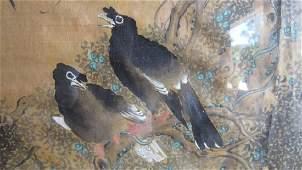 Qing Dynasty Chen Quan Style Bage tu Silk Paint