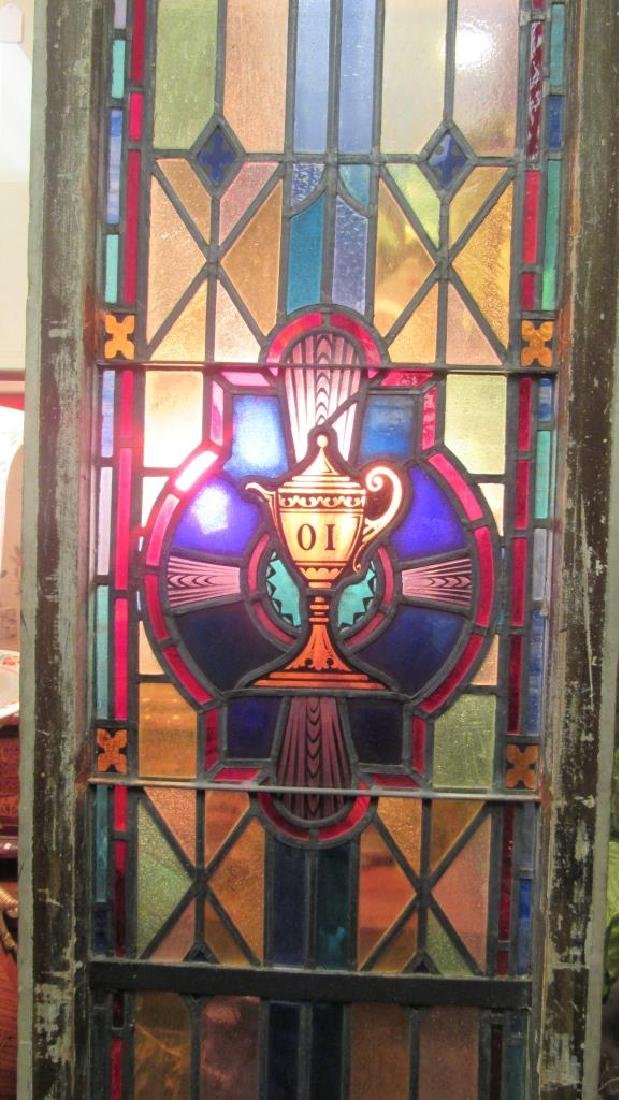 Beautiful Stained Glass Panel - 10