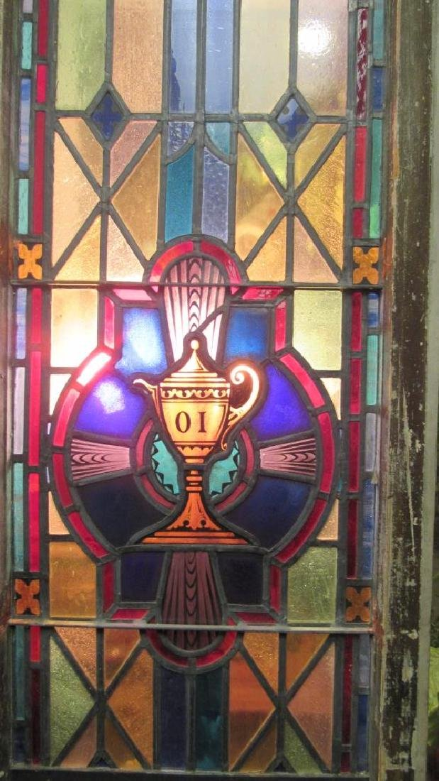 Beautiful Stained Glass Panel - 2