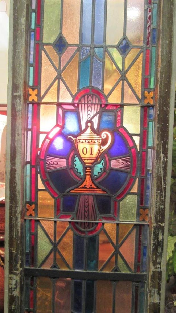 Beautiful Stained Glass Panel - 9