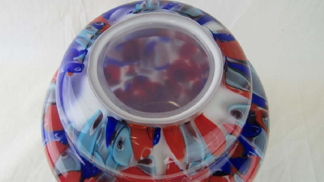 Multi-color Murano Glass Vase - 2
