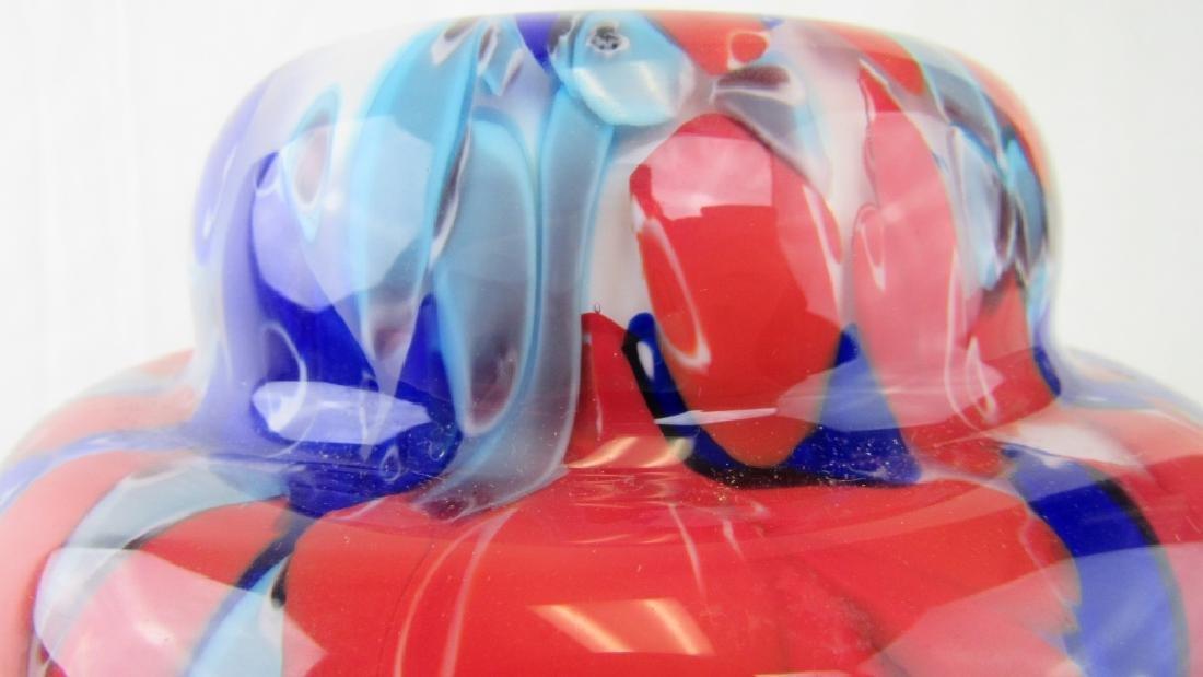 Multi-color Murano Glass Vase - 4