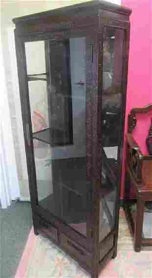 19-20th Century (Zitan Mu) Rosewood Cabinet