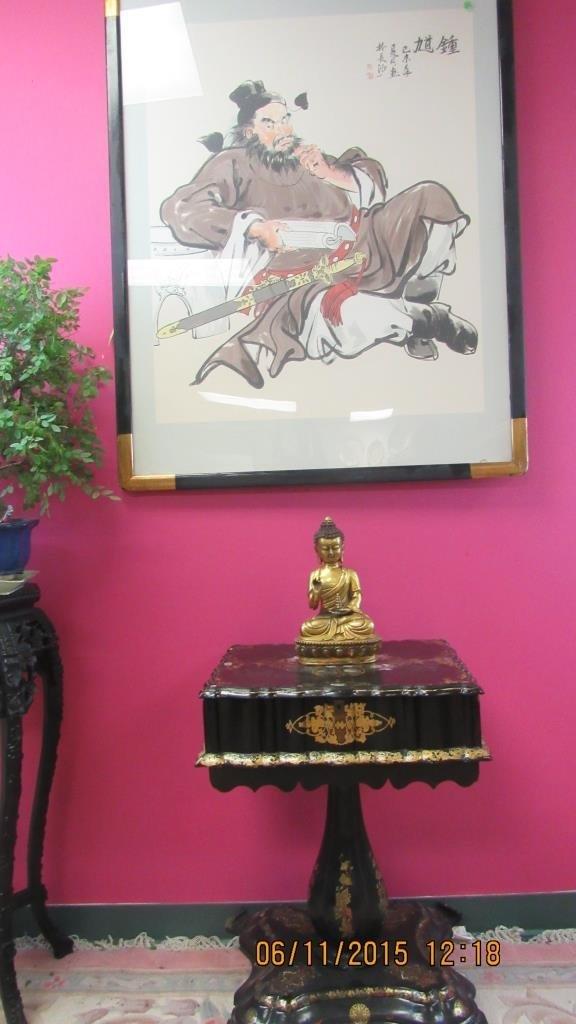 Chinese Gilded Bronze Statue of Buddha