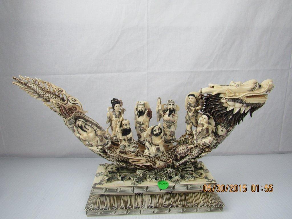 Asain Arts Mammoth Dragon Ship