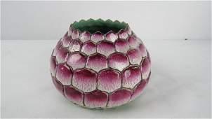 Chinese Qing Dynasty Lotus Water Pot