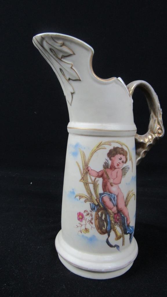 Victoria Carlsbad Austria Porcelain Pitcher - 3