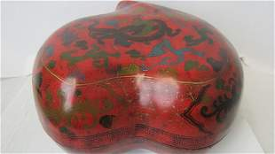 Heart Shaped Lacquered Box