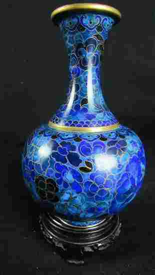 Flower Patterned Vase