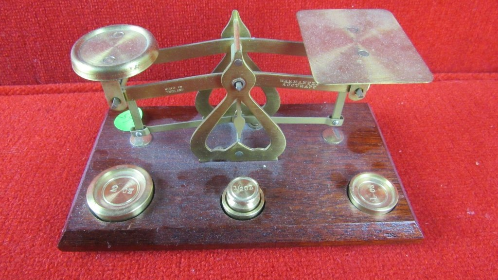 Old Fashioned Weight Scale - 2