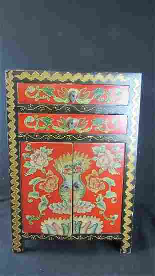 Chinese Qing Dynasty Nightstand